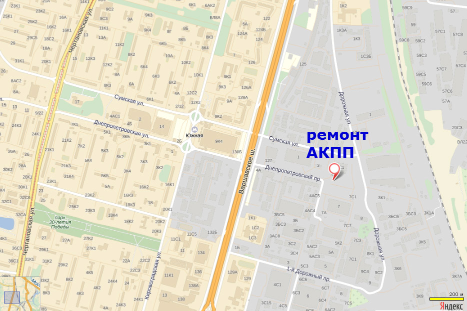 Проезд на Днепропетровский пр-д 5