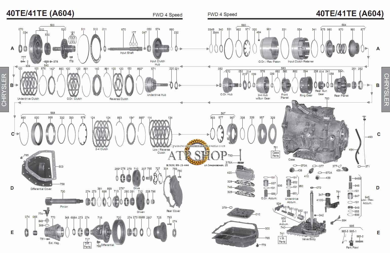 схема на крайслер вояджер 1996- 2000 года выпуска