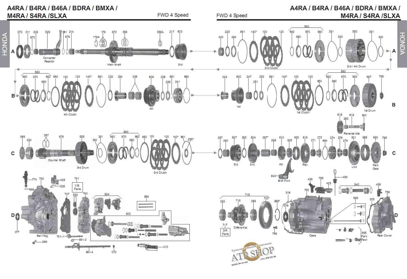по m4va вариатора ремонту мануал