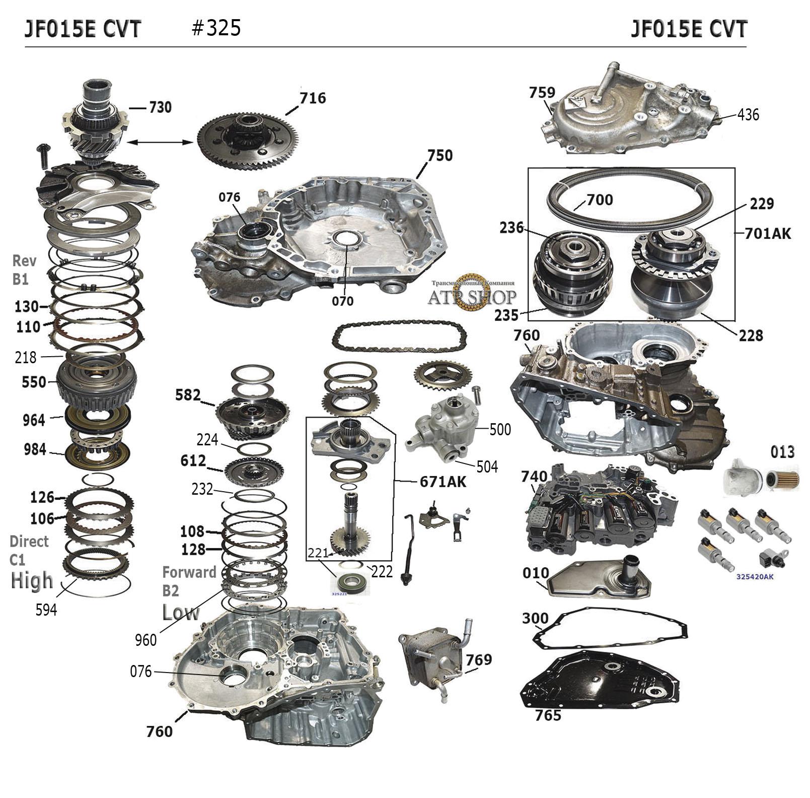 Схема вариатор ниссан жук
