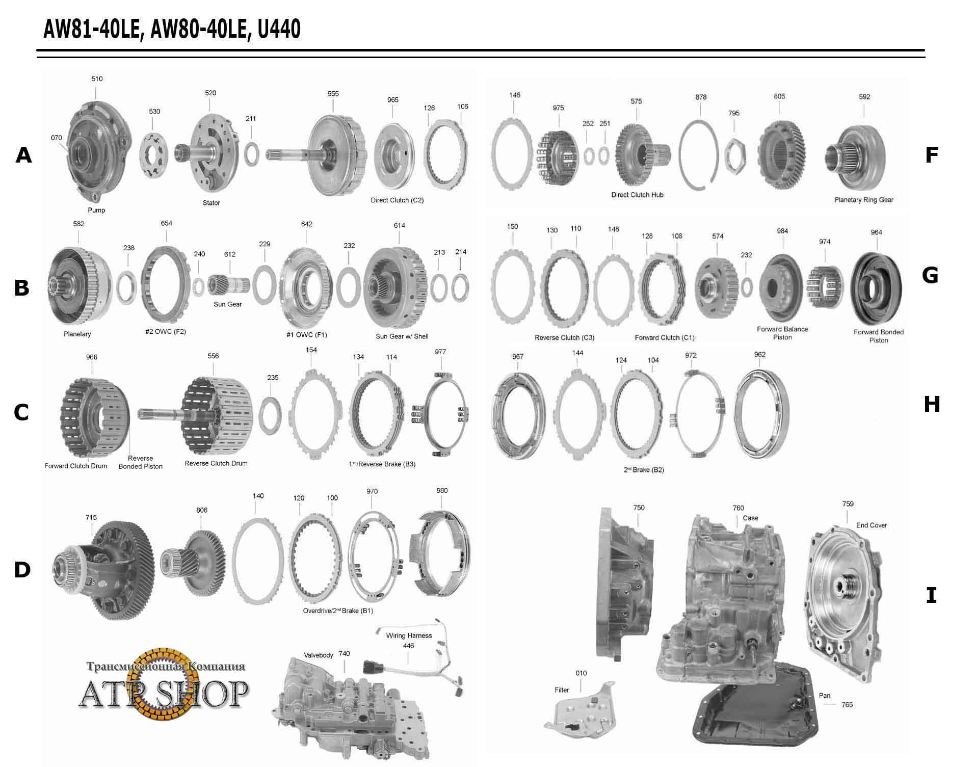 AISIN 81-40LE PDF