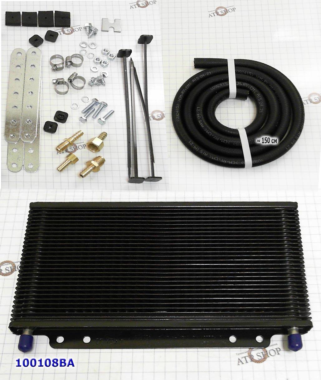 Радиатор охлаждения АКПП пластинчатый COOLER FULL SIZE 279 x 140Н x19mm 3\8'
