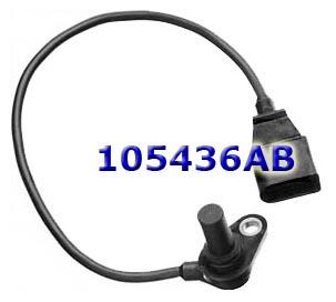 Датчик входных оборотов Sensor, VW 01M/N/P Output на проводе фишка с закруглением, коннектор на 3 контакта