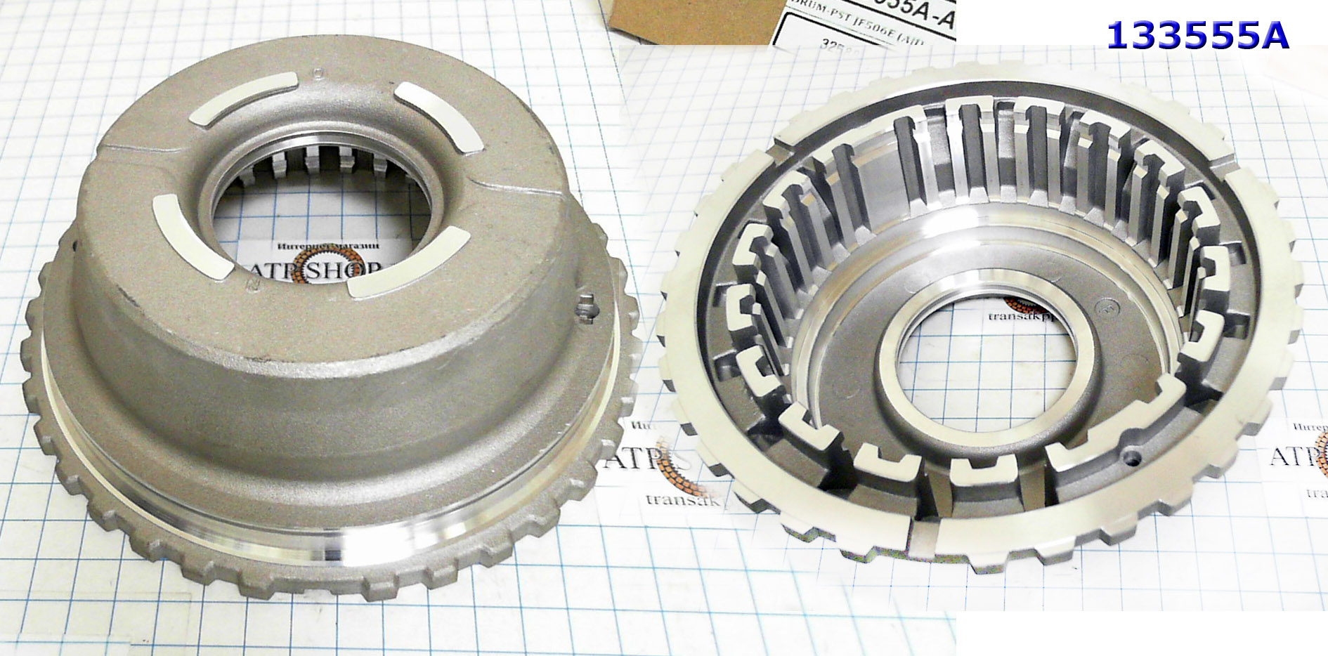 Поршень, Housing, JF506E (All) High Clutch (Aluminum) (53,7mm Thick)