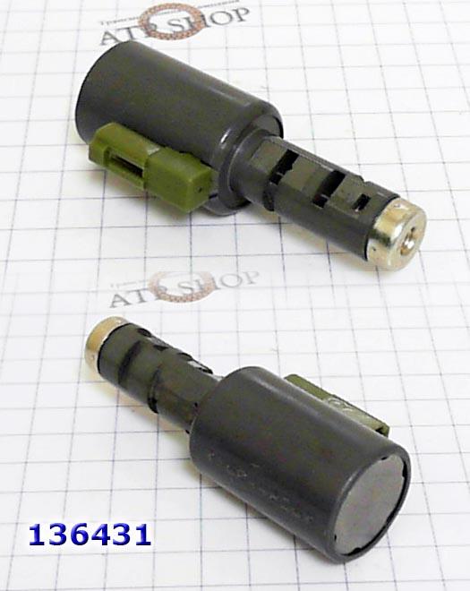 Соленоид-Электрорегулятор  линейного давления и переключения сцеплений - зелёный разьём, Solenoid EPC Linear/ Shift C1, C2, C3, B1. TR60SN/TF60SN/TF61SN/09G/09K/09D Audi, VW, Porsche