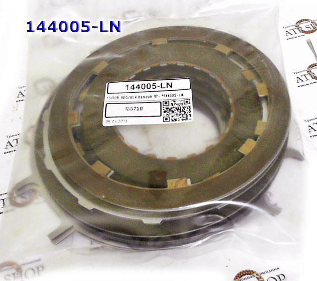 Комплект фрикционных и стальных дисков, DP0/AL-4 все французские автомашины до 2-х литров 1999-Up