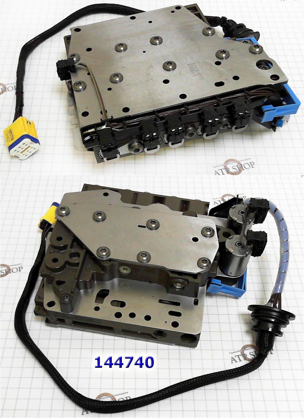 схема гидроплиты клапанной DP0 (AL4)