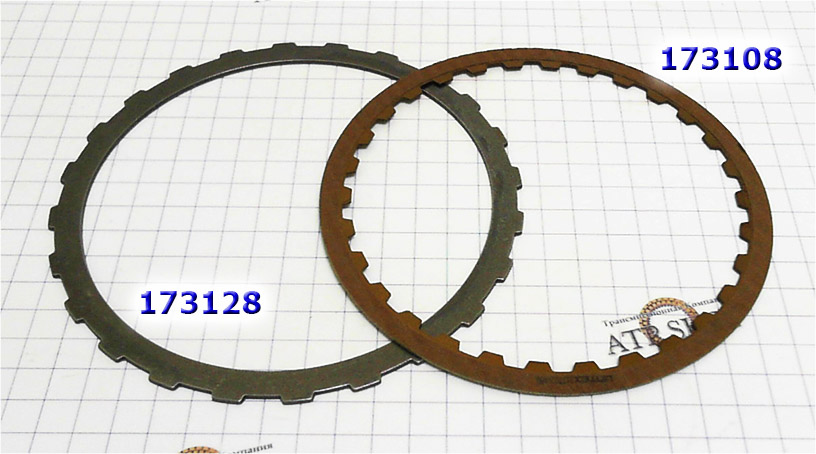 Фрикционный Диск, [30Tx1,6x147] Friction plate, ZF4HP18 A/C