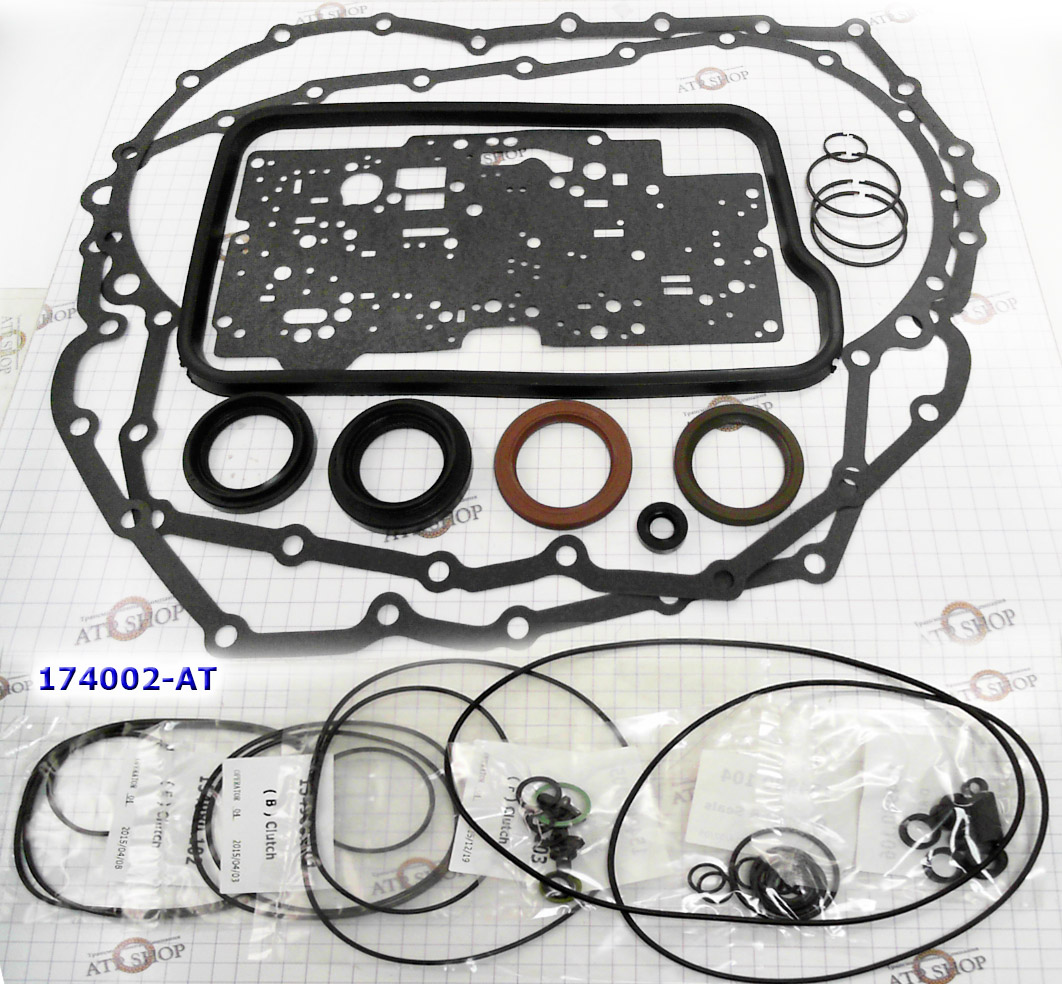 Ремкомплект\ Оверол кит\ Overhaul Kit), ZF4HP20 без поршней (Peugeot/Renault/Alpha Romeo/Mercedes) 1998-Up