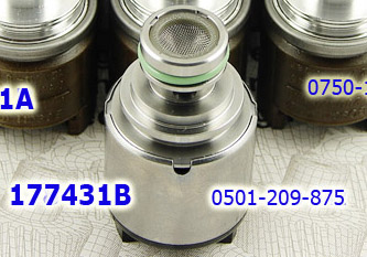 Соленоид Давления (EPC), Верхний 4HP20/ZF5HP19/ZF5HP24/ZF5HP24A/ZF5HP30