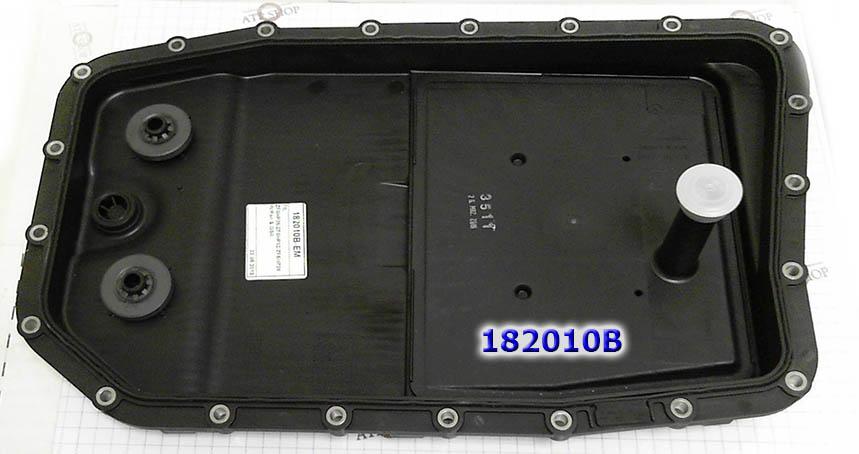 Filtro com uma panela de óleo de plástico, 6HP26/6HP32 2002-up, Aftermarket