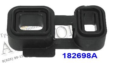 """Vedação de plástico (retangulares """"vidros"""") 6HP26/28/32 conecta canal de óleo entre a bomba e a válvula de placa OEM 2002-up"""
