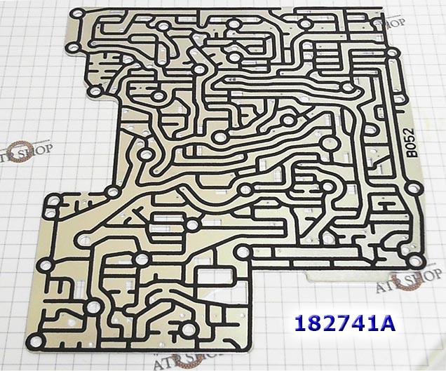 Пластина Сепараторная Клапанной Плиты, 6HP26/19 номер на пластине №1068-327-179 с обрезиненными дорожками