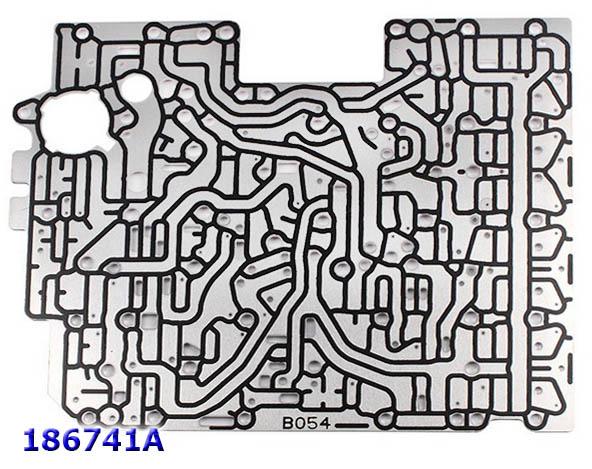 Пластина Сепараторная Клапанной Плиты №048, ZF8HP45/70 (1087-327-175)
