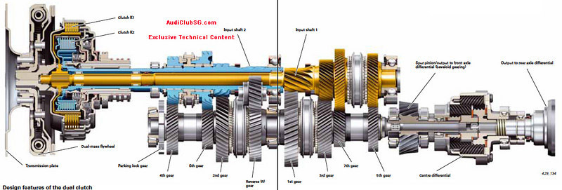 Схема  DL501 DCT