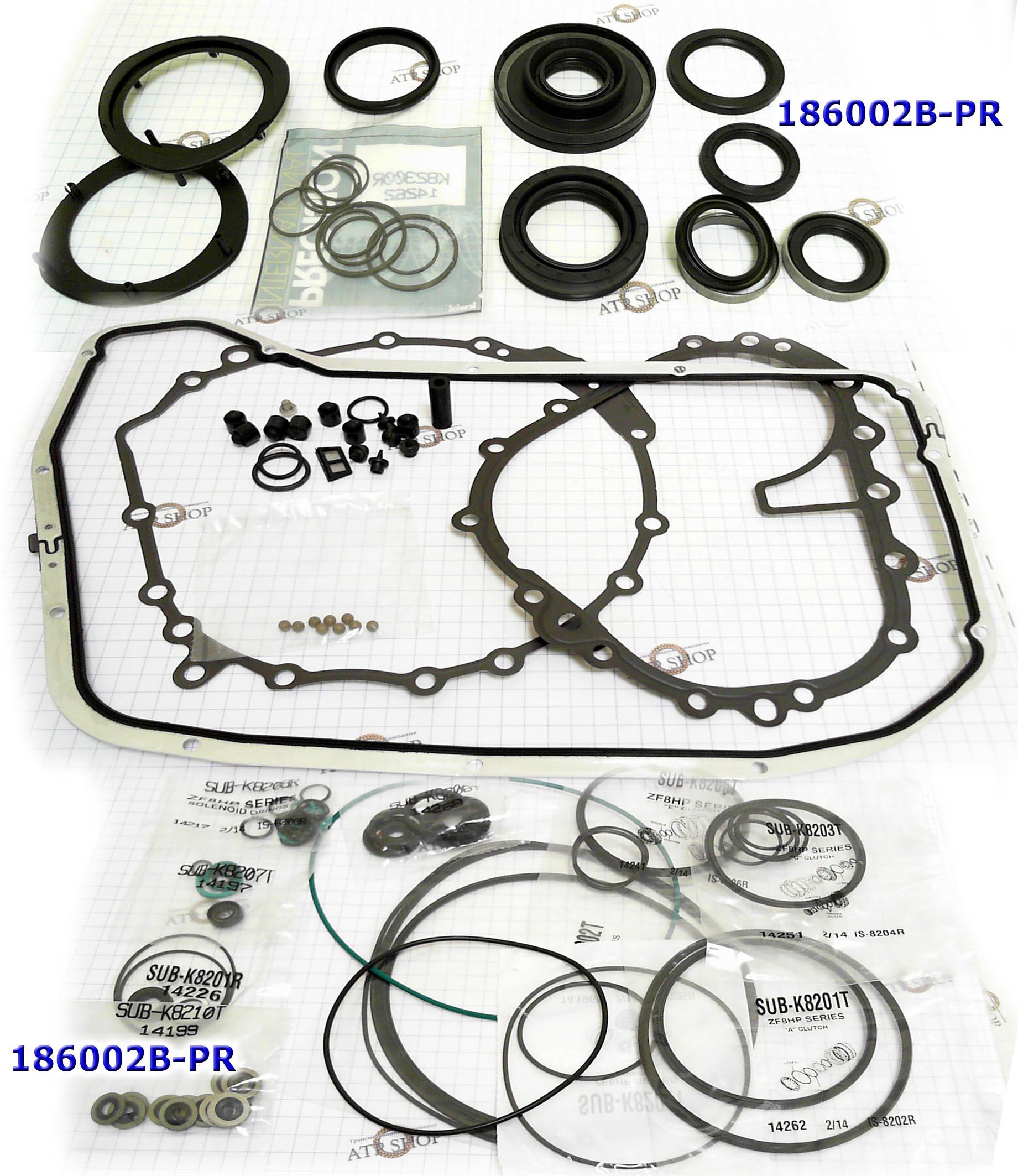 РемКомплект прокладок и сальников, Overhaul kit, ZF8HP55A