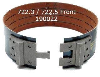 Лента тормозная передняя, (B-1 / Front Band) 722.3/5 1981-Up