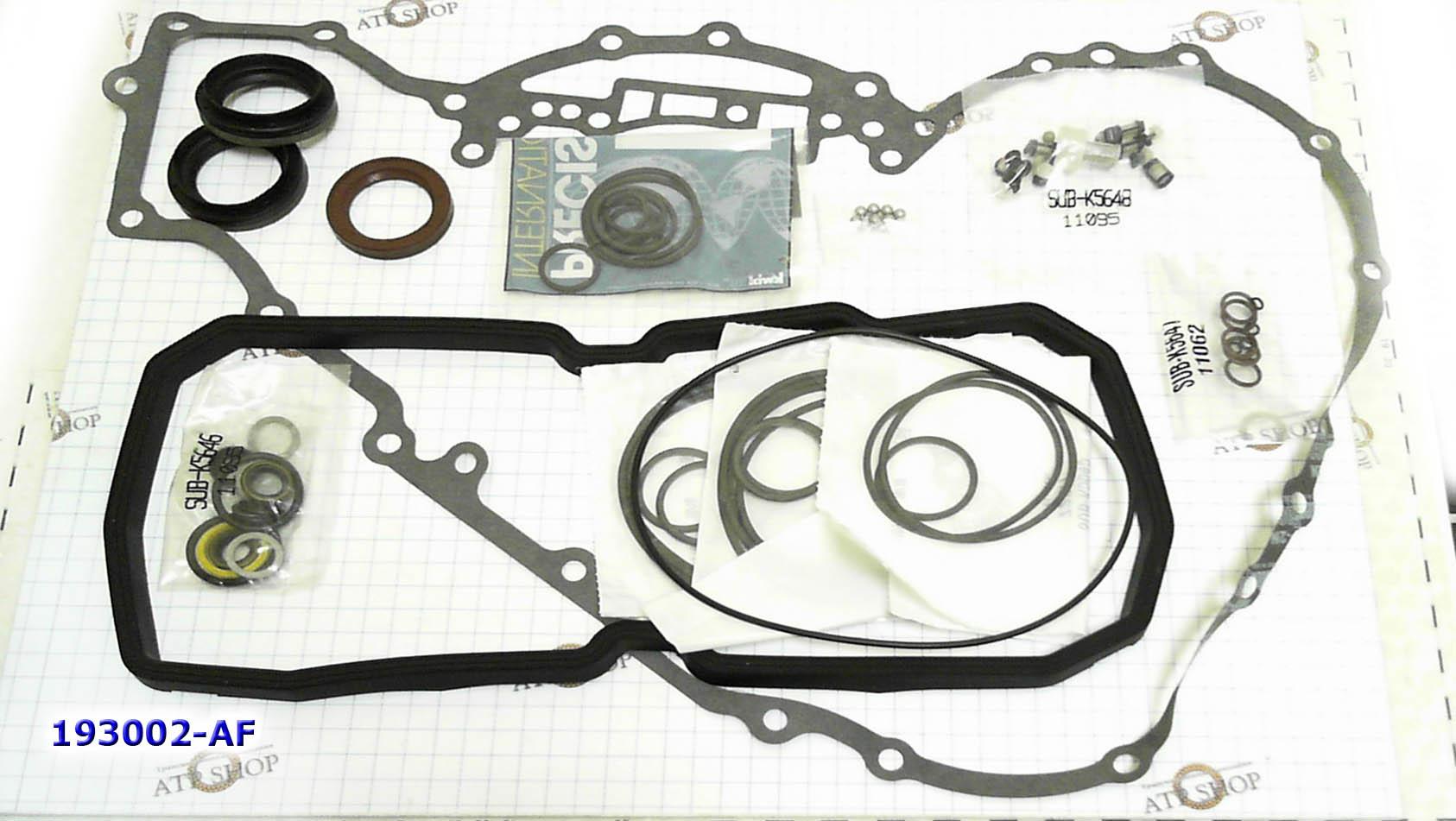 омплект Прокладок и Сальников (Ремкомплект\ Оверол кит\ Overhaul Kit), 722.7 W5A180 5-SPD FWD