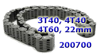 Цепь АКПП 3T40/4T60 Chain, (22mm Wide, 42 Links) 1984-2001