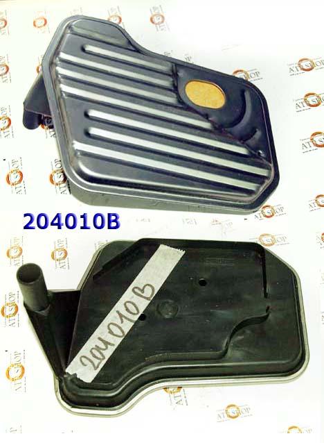 Фильтр, 4L60E для глубокого поддона 4X4, металл/пластик с ребром 1998-Up