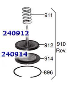 Поршень, Piston AOD/E/4R70E/75E Servo Reverse