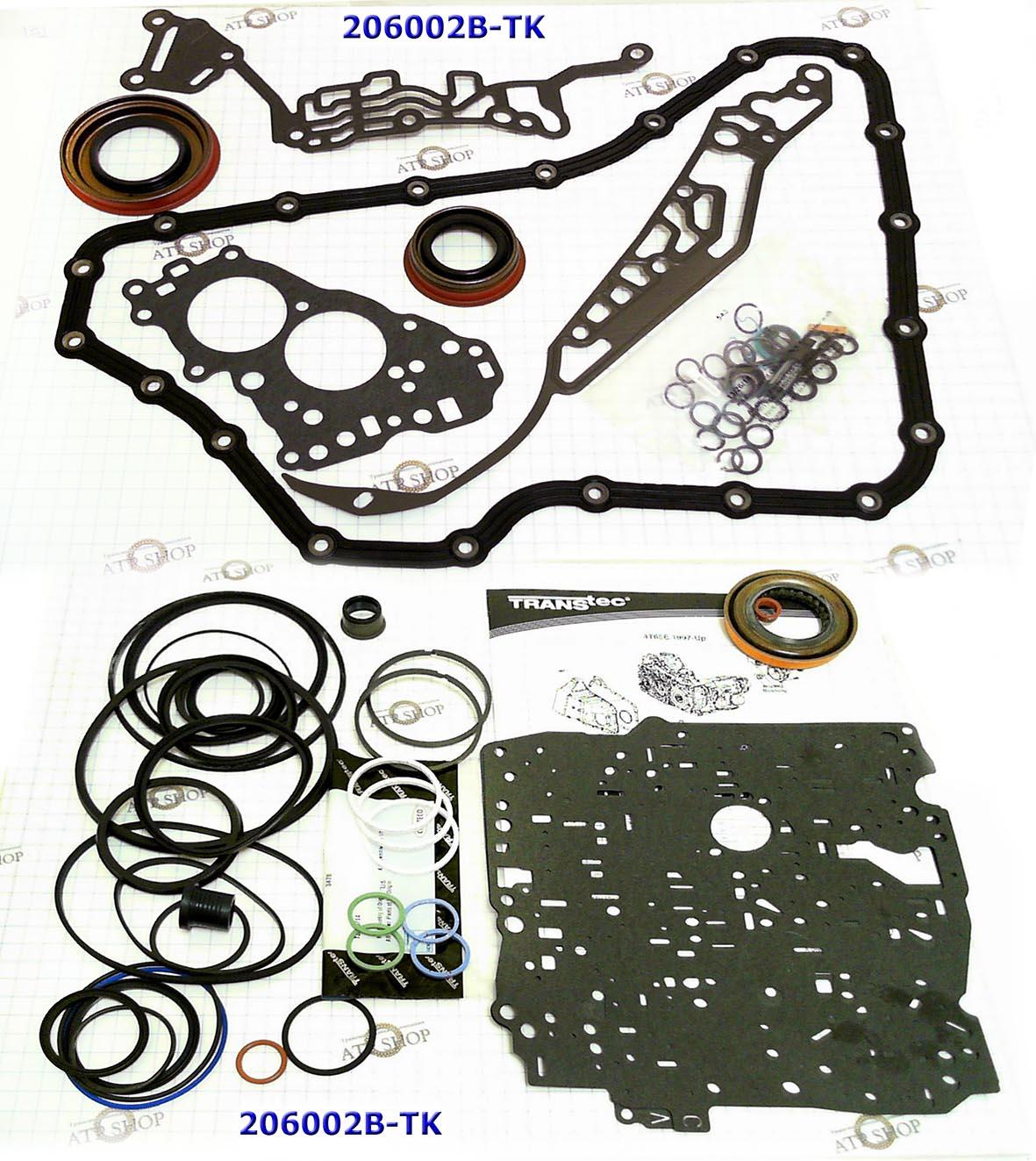 Комплект Прокладок и Сальников (Ремкомплект) (Оверол кит), Overhaul Kit, 4T60E W/Vespel Rings 1991-1999