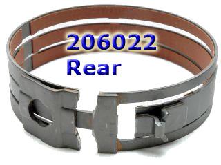 Лента тормозная, форвард/лоу-реверс, Band 4T40E/45E/60E/65E Forward/low reverse 1991-up,