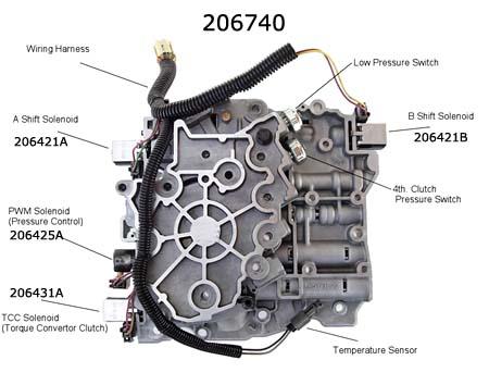 гидроблок 4T65E