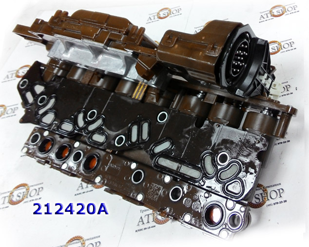 Группа Соленоидов (Мехатроник), Solenoid Assembly, 6L80/6L90, 2006-Up, GM/AC Delco