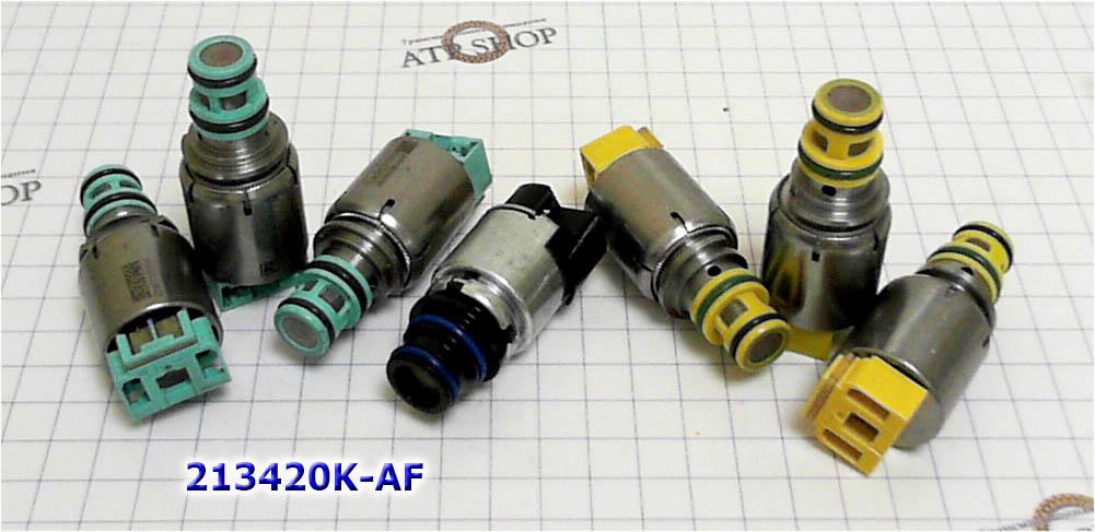 соленоиды 1 поколения 6T40-6T30