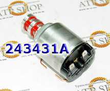 Соленоид Давления (EPC), Solenoid, EPC With 2 Red Screens & 2 Side Prongs 4R44E/55E/5R44E/55E 1995-Up & 4L30E 2000-Up