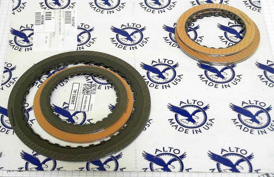 CD4E friction plates Kit