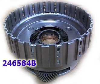 Планетарный ряд, (Rear Reverse planet) CD4E 3 gear