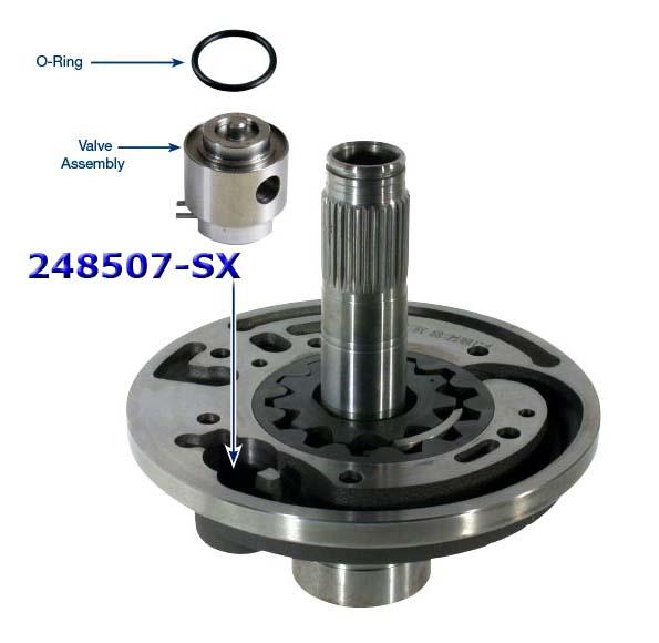 Клапан ремонтный  статора насоса 5R55W /S