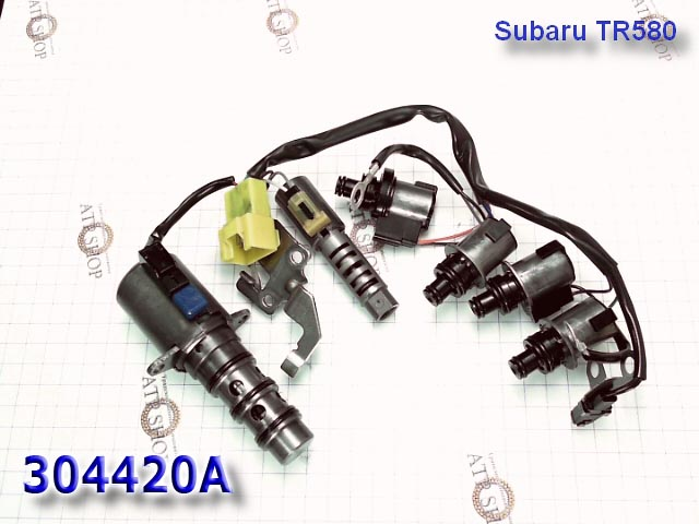 Набор соленоидов с проводкой вариатора SUBARU TR690 CVT  Solenoid set W/Harness 2009-up