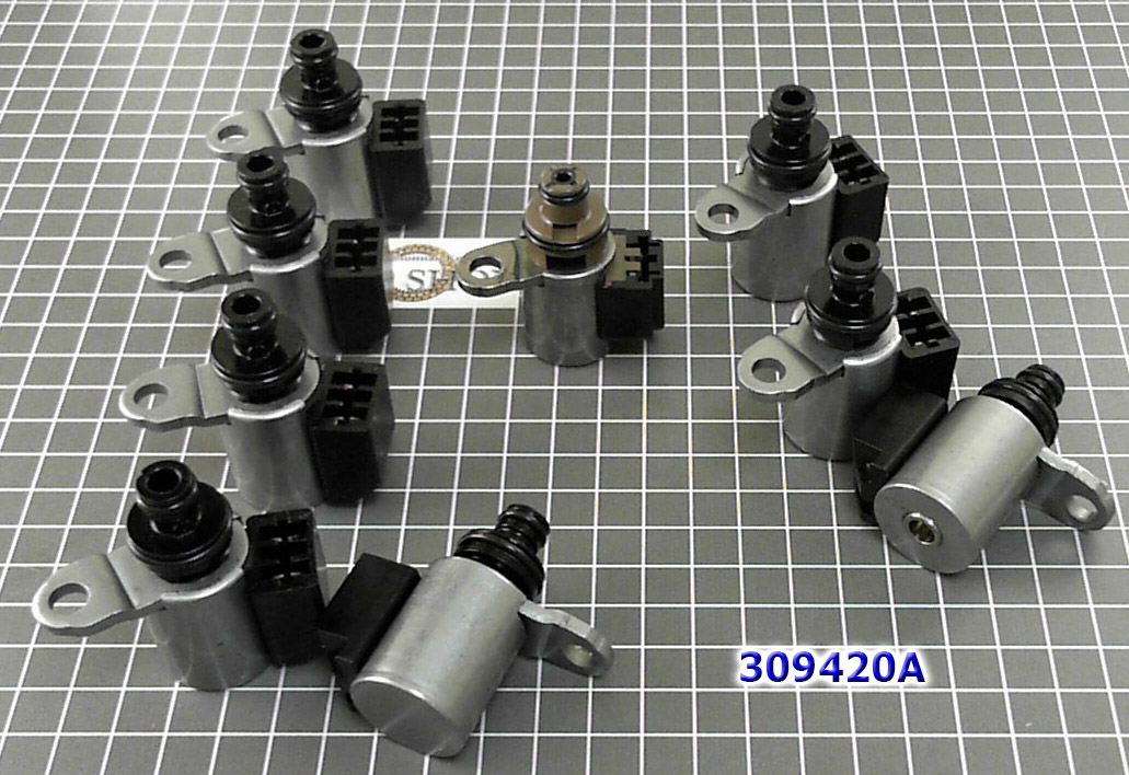 Комплект соленоидов из 9 штук, SOLENOID KIT  JR710/JR711