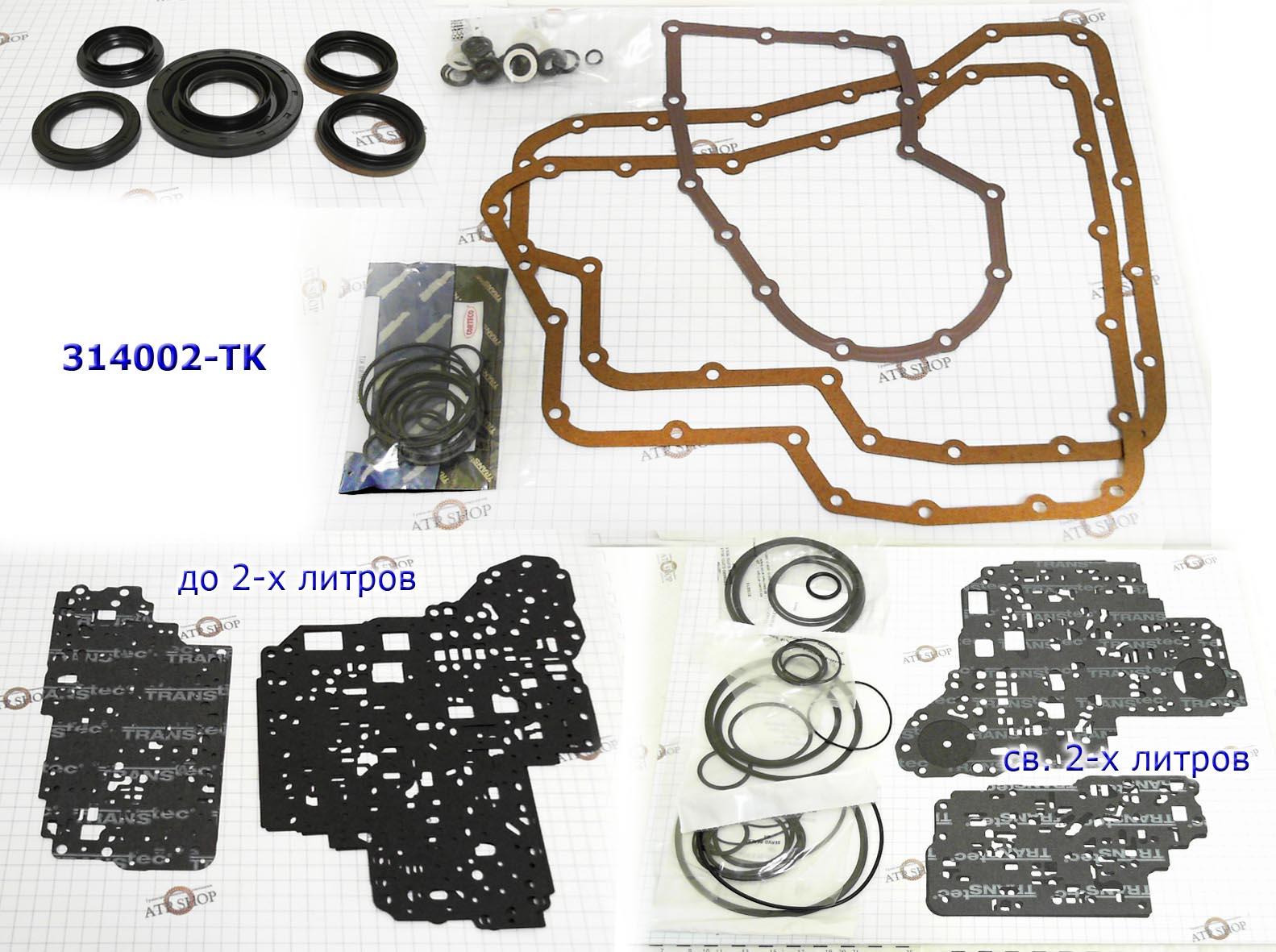 Комплект Прокладок и Сальников (Ремкомплект\ Оверол кит\ Overhaul Kit), RL4F03A 1991-Up