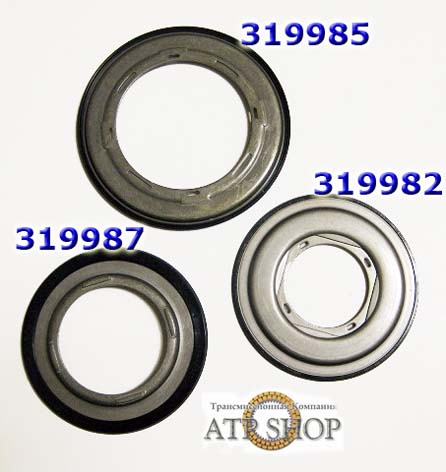 Комплект Ретейнер Piston Retainer акпп RE5R05A Kit (3pc), (Input, Direct, Low-hi)02+
