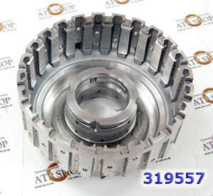 Барабан, Drum, RE5R05A High-Low Clutch (5 Clutch) (Aluminum)