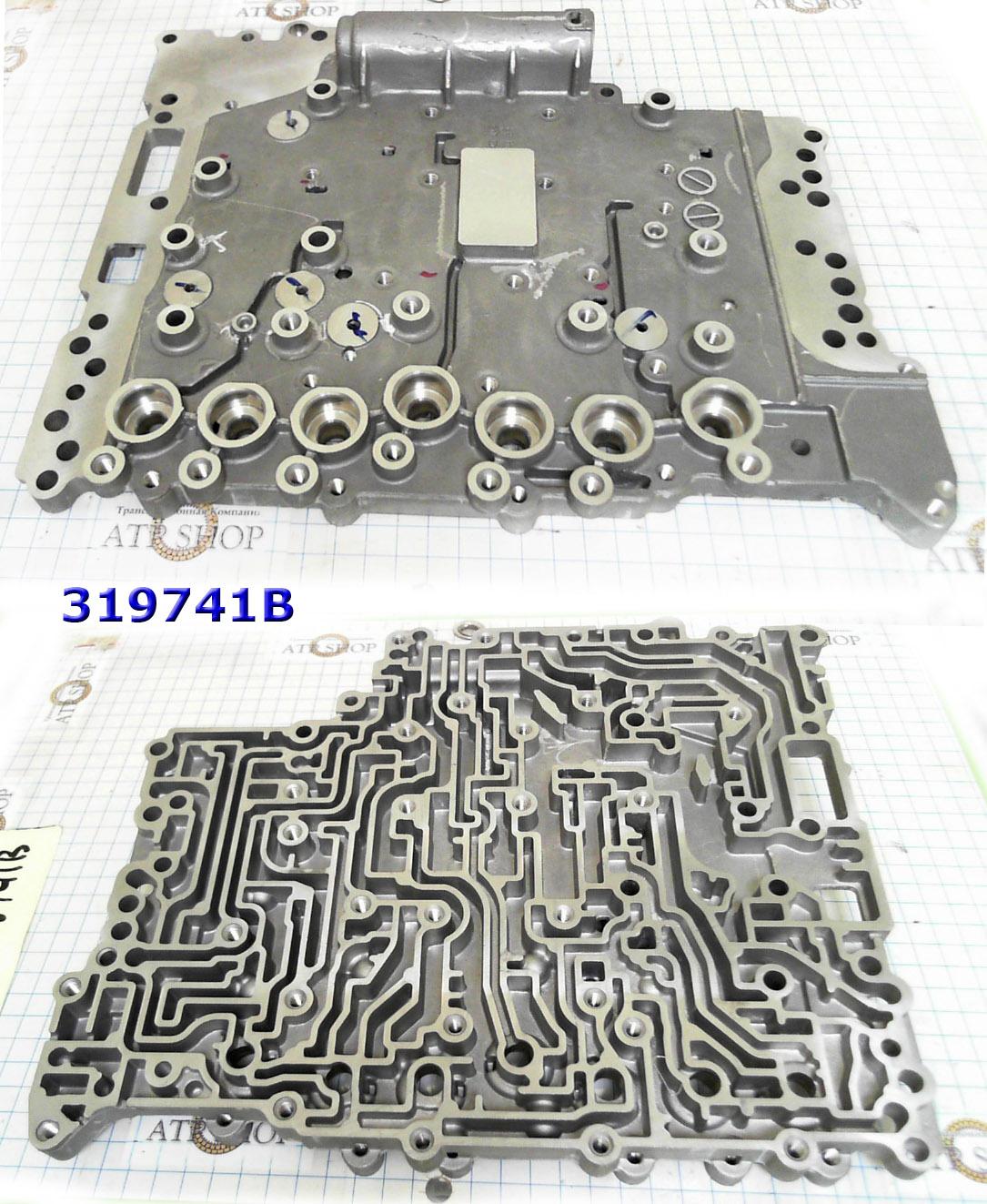 Верхняя часть гидроблока под соленоиды, Valve Body RE5R05A, Hyundai\Kia
