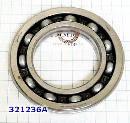 Подшипник, Bearing, RE0F10A/JF011E, Secondary Pulley to Rear Cover,(Secondary Pulley Big), (90x45x17), OEM