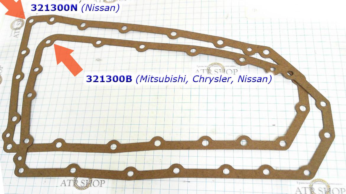 Прокладка масляного поддона, Gasket, RE0F10A/JF011E (CVT), Oil Pan,
