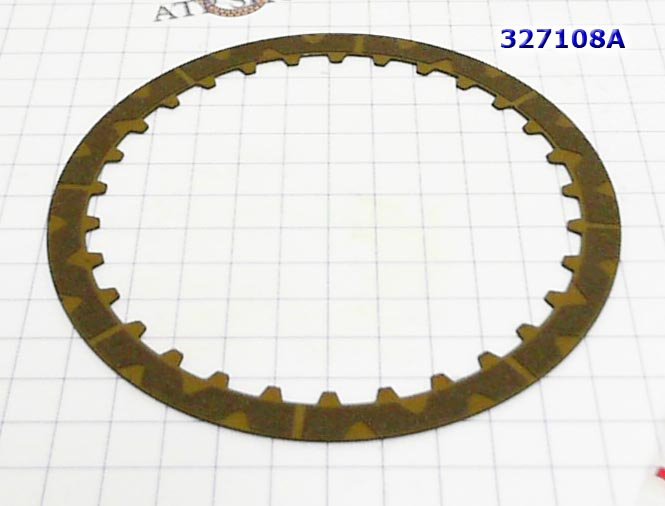 Фрикционный Диск, Friction plate, JF414 LADA GRANTA Forward Clutch
