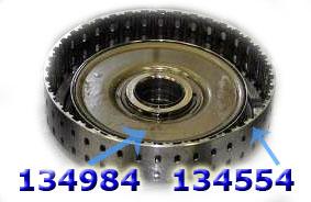 Ретейнер обрезиненный, Retainer  K1 (Balance Piston Bonded), TF60SN 09G 2005-Up