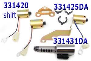 Соленоиды комплект, Solenoid kit , A245E/ A246E - A247E 2004-Up