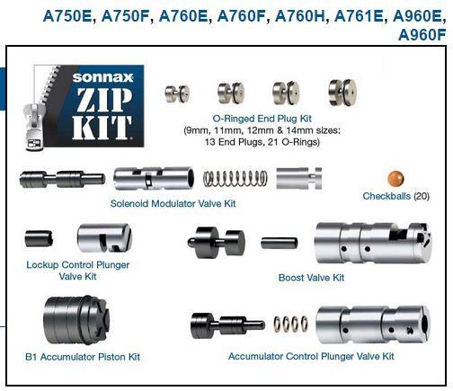 Ремкомплект гидроблока A760-960