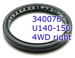 Сальник (манжета) полуоси, правый, U140/U150/A540E/A541E/U660E/U760E Axle RH (56.3x39x15) 2WD 1999-Up (OEM)