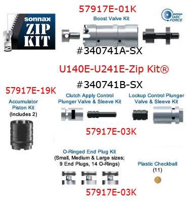 ремкомплект Соннакс для АКПП U140, U240, U241