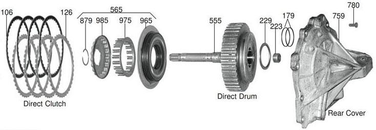 задняя крышка U140-240
