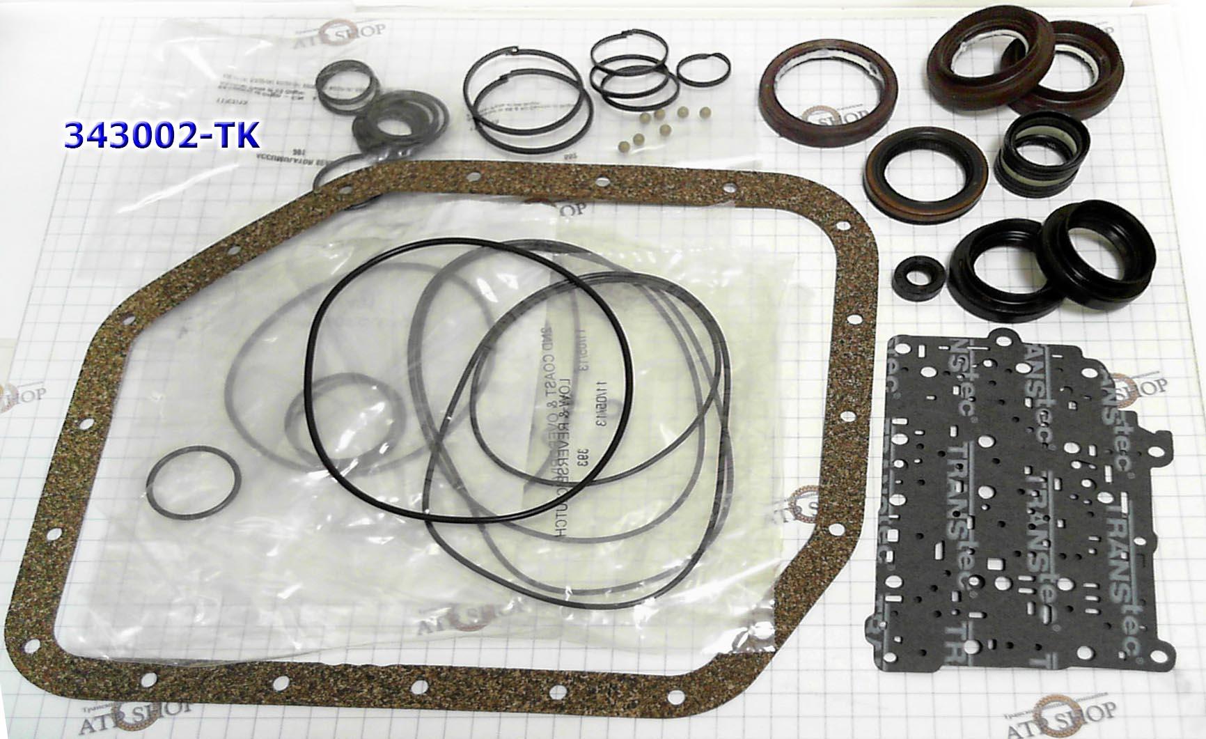 Комплект Прокладок и Сальников (Ремкомплект\ Оверол кит\ Overhaul Kit), U340/341E без поршней 2000-up